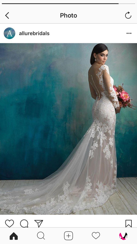 43 best Allure Wedding Gowns images on Pinterest | Wedding frocks ...
