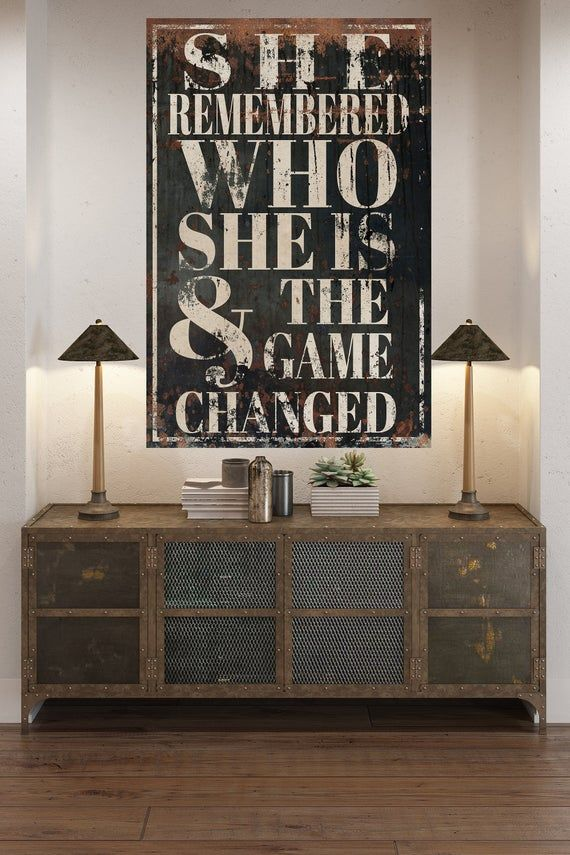 Inspirational Bedroom Decor Large Wall Art Farmhouse Sign Kitchen