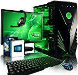 Vibox Apache Package 9 Gaming PC - with Warthunder Game Bundle, Windows 10, 21.5