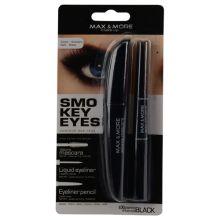 max+more mascara met dubbele eyeliner