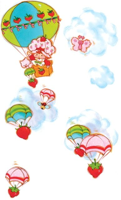 Yum is in the air! Strawberry shortcake