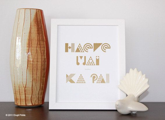 Haere Mai everything is Ka Pai  New Zealand song by EruptPrints