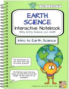 Start the school year off right with this FREE first chapter of The Earth Science Interactive Notebook series: Intro to Earth Science from Nitty Gritty Science