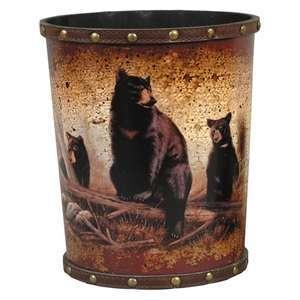 Trash Can For The Bathroom Black Bear Decor For My Mom Pinterest Bears