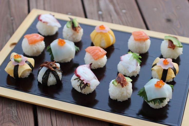 手まり寿司 sushi