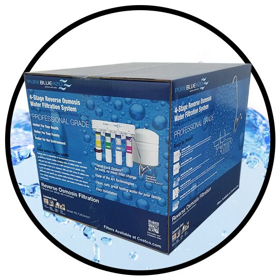 Water Reverse Osmosis Nsf Certified F Www Pureblueh2o Costco Filtration Systems
