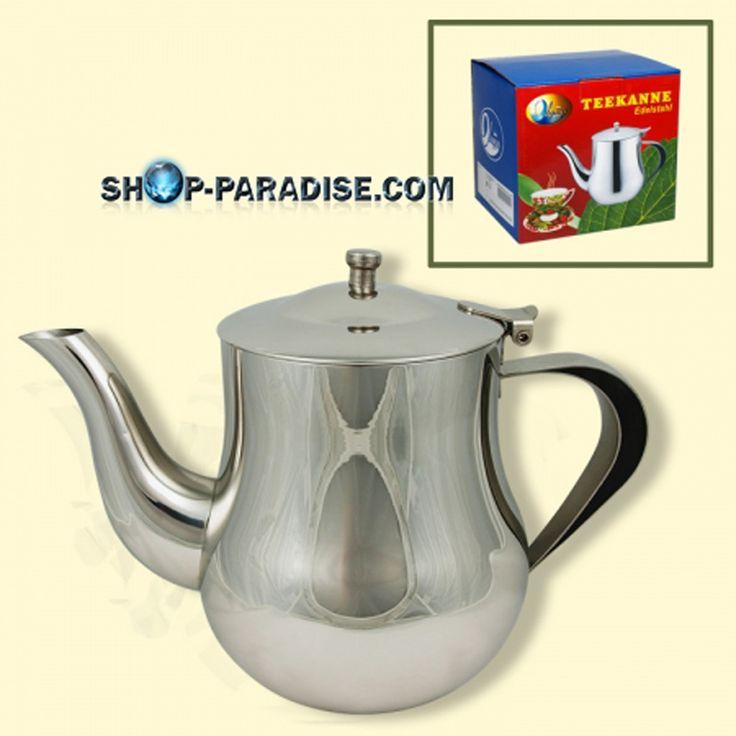 SHOP-PARADISE.COM:  Teekanne aus Edelstahl 1,5L 21,00 €