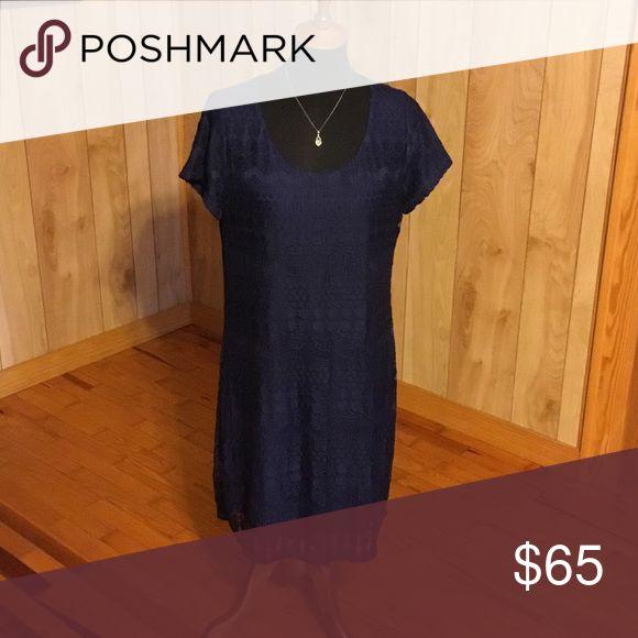Tiana b blue dress
