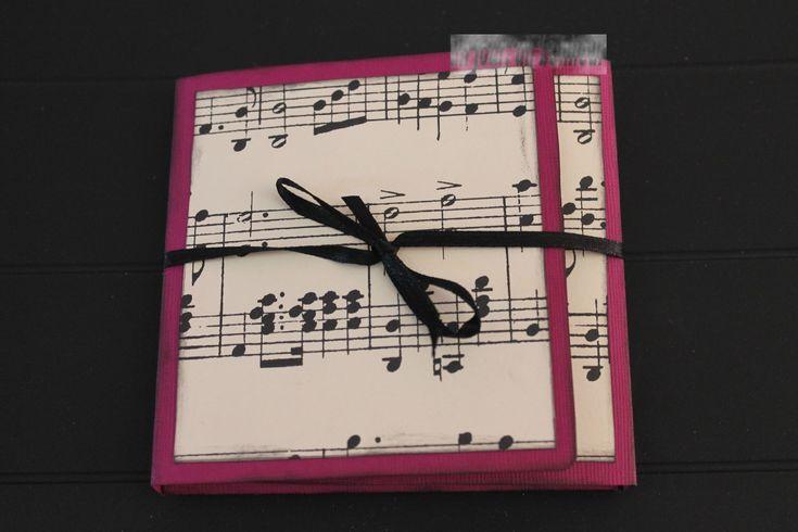 Carte D'invitation Anniversaire theme Musique New Mini Album Thème Musique Un Jour Un Bonheur