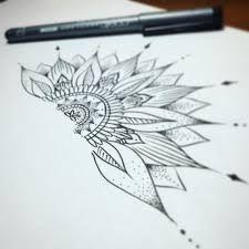 sunflower mandala tattoo - Pesquisa Google