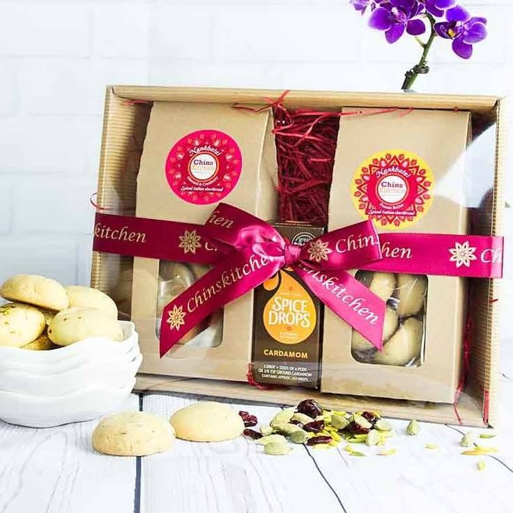Indian Shortbread And Spice Drops Gift Set