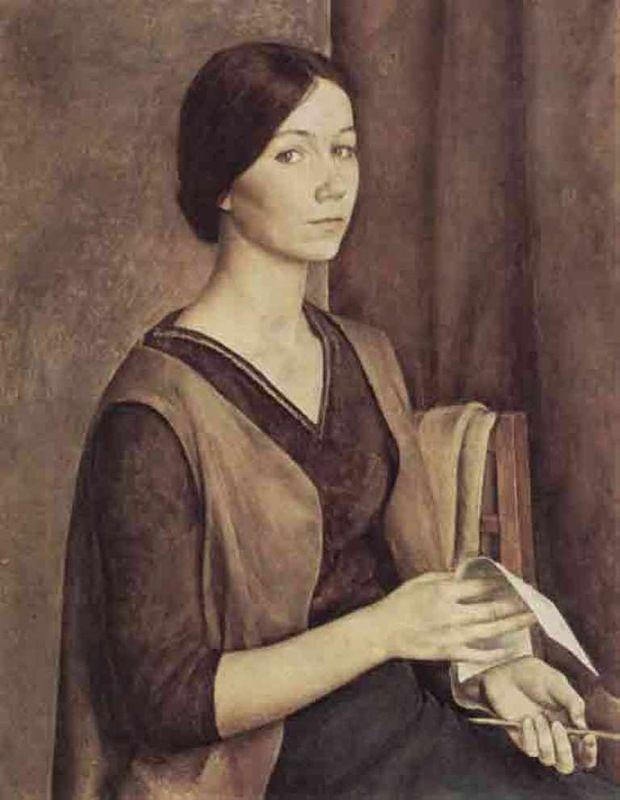 Кириллова - автопортрет