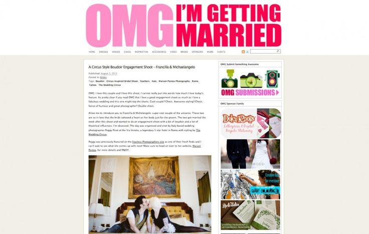 http://www.omgimgettingmarried.com/2013/08/a-circus-style-boudoir-engagement-shoot-francilla-michaelangelo/ Stylist: http://www.theweddingcircus.com/ Phototographer: http://www.maisonpestea.com