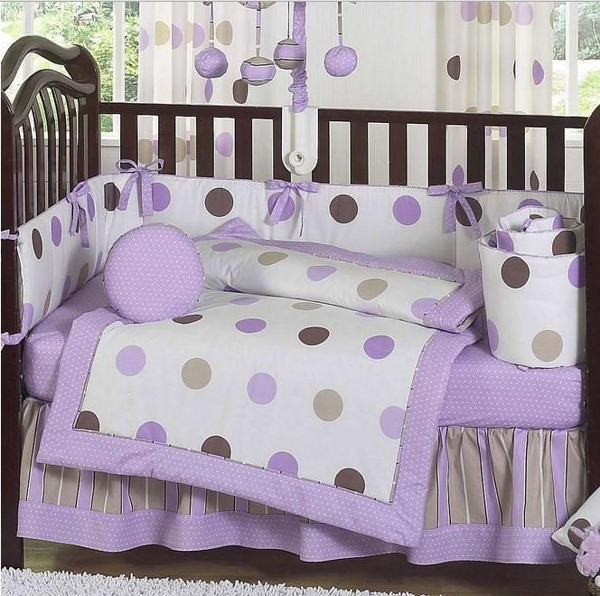 Baby girl crib bedding sets purple. 17 Best images about baby nursery on Pinterest   Purple  Girl