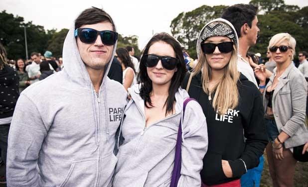 Hoodies reigned supreme at Sydney Parklife 2011