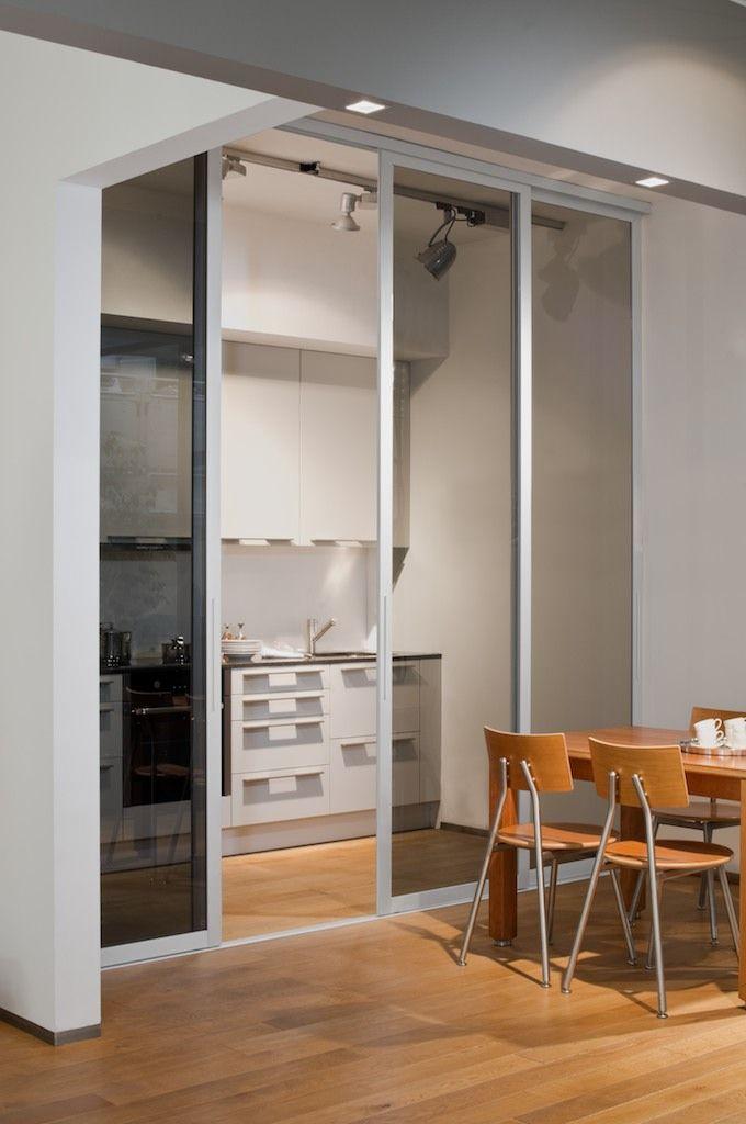 11 best Schiebetüren Küche images on Pinterest Kitchen dining - küche mit esszimmer