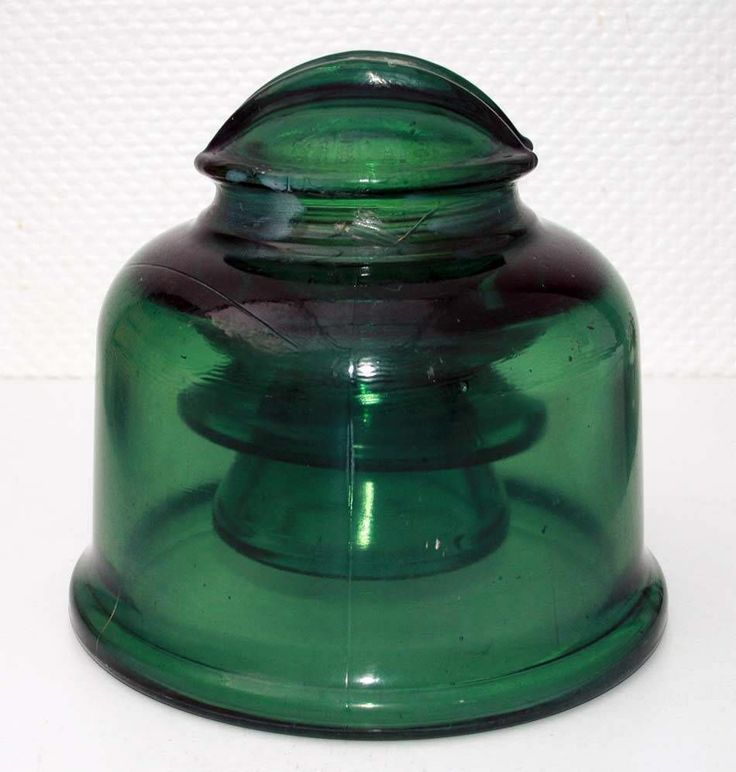 FRENCH INSULATOR VERY RARE L'ELECTRO VERRE 315 AT BORD DE MER