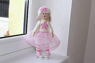 Hračky - textilná bábika - 7524692_