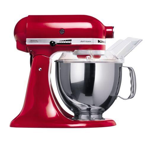 Robot Kitchenaid 5KSM150PSEER Rouge Artisan