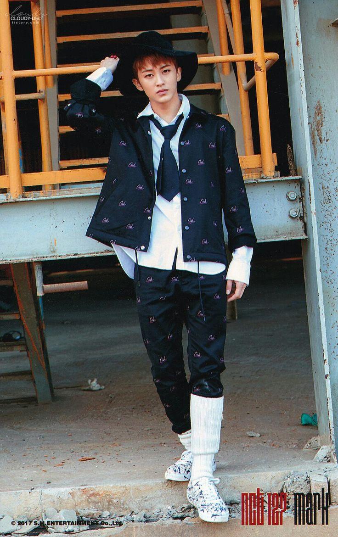 NCT 127  Mark [ 이민형 ] ㅡ CHERRY BOMB Photoset ⓑ version scan by. 흐린