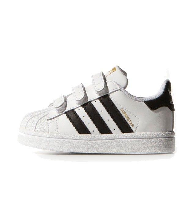 Adidas Superstar Foundation CF I Toddler White/White, Kids Footwear, www.oishi-m.com