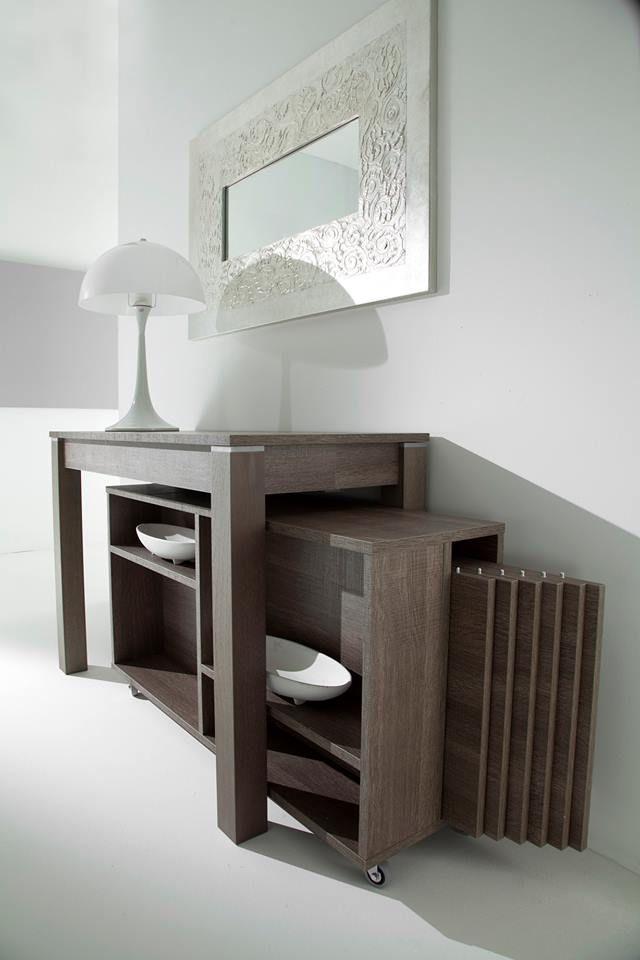 Tavolo consolle allungabile con sedie design casa for Tavolo consolle allungabile prezzi