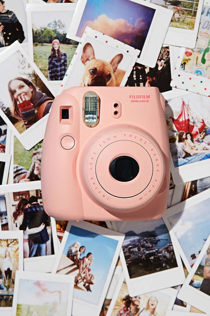 Fujifilm Instax Mini 8 Instant Camera - Urban Outfitters Would love one!!!!!!