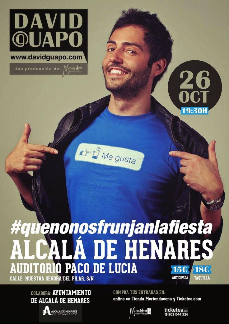 """ACTIVIDADES: David Guapo en el Auditorio Municipal """"Paco de Luc..."""