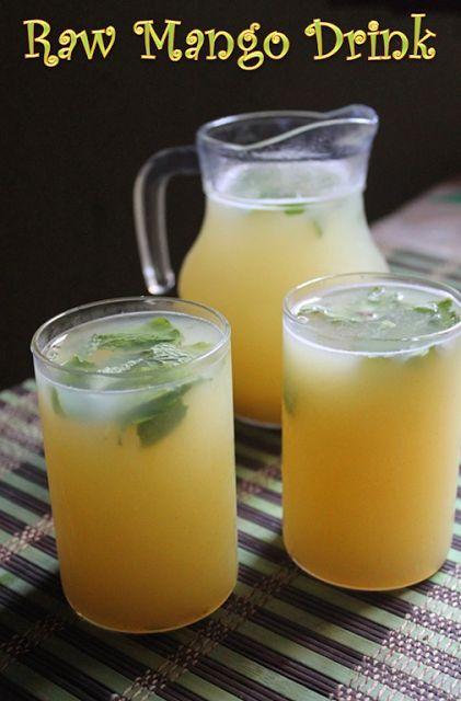 Aam Ka Panna Recipe / Raw Green Mango Drink Recipe