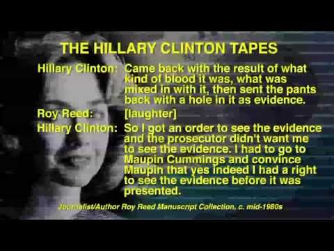 AUDIO: Hillary Clinton Speaks of Defense of Child Rapist in Newly Unearthed Tapes...Listen how smug & happy she was to help this RAPIST of a 12 YEAR old CHILD get off on only 2 months in jail, because of a technicality she proudly came up with and KNOWING HE DID RAPE that CHILD!!! EVIL! That poor child and family!!!