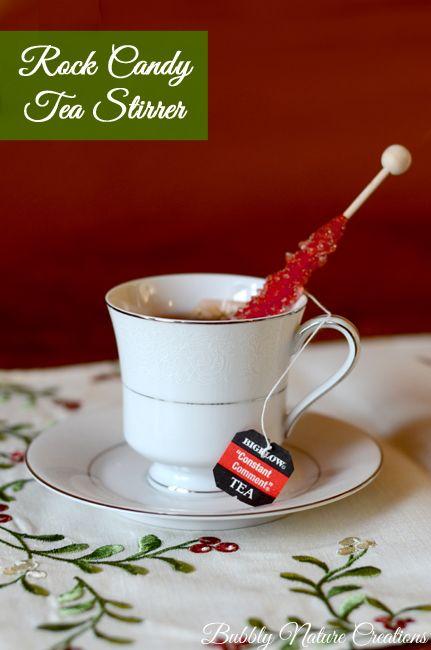 Christmas Tea Party!  {Bigelow Constant Comment Tea}