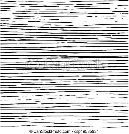 Vector - hand drawn striped pattern design. vector illustration