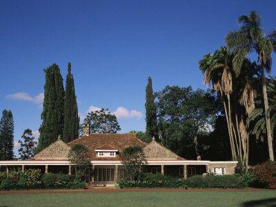 The House of Karen Blixen (Isak Dinesen), Suburbs, Nairobi, Kenya, East Africa