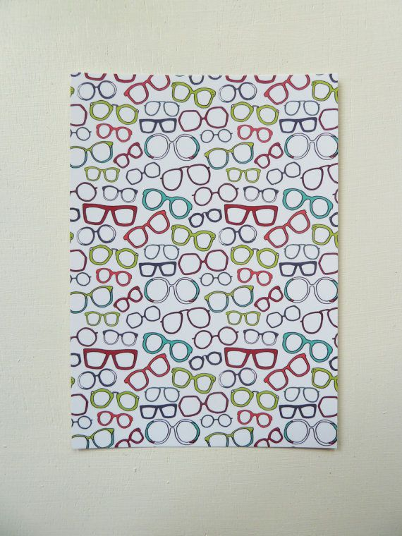 This Sunglasses Pattern Postcard is designed and illustrated by Rachel Ali Hawkins. The postcards are blank on the other side which means these postcards can be sent to someone or used simply for decoration. They measure approx 105mm x 148mm and come in a protective cellophane bag. Printed onto thick 350gsm, FSC credited paper stock.  If you wish to see more of my work please go to www.rachelalihawkins.co.uk