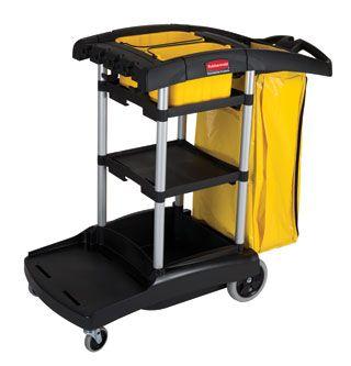 High Capacity Janitors Cart