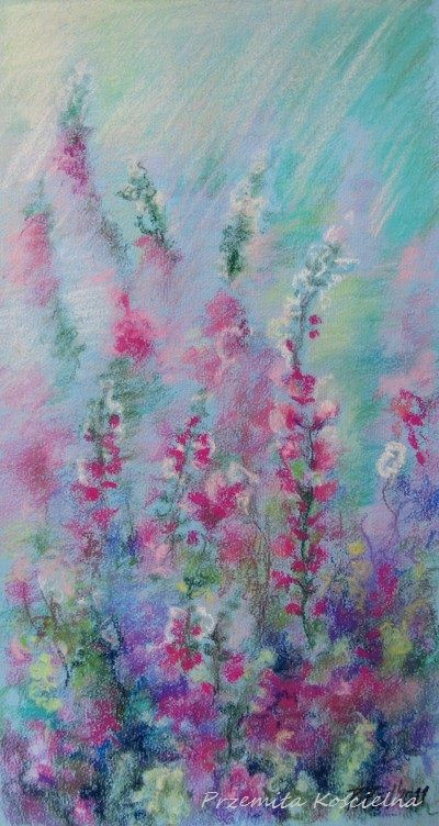 #Pastel painting by Canis Art Studio