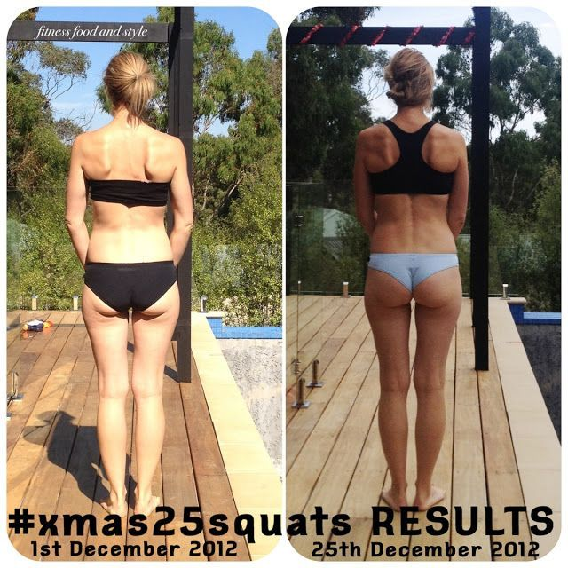 Image result for booty before and after squats