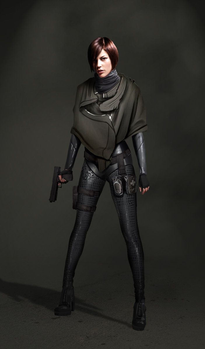 ArtStation - Female Agent, Jens Fiedler