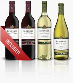Beringer Wines: Merlot, Cabernet Sauvignon, Chardonnay and Pino Grigio. #wine