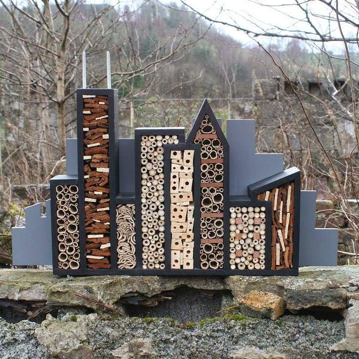 You call it garden art, insects will call it home. These chic bug hotels will offer shelter and even food for beetles, bees, and spiders.