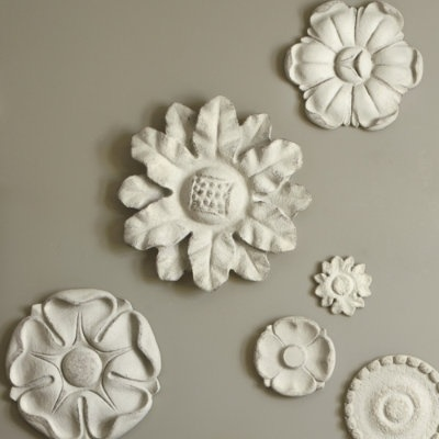 these guys are kinda fun: Wall Art, Wall Decor, Ceilings Medallions, Plaques Texture, Wall Color, Wall Plaques, Relief Plaques, Mater Bedrooms, Ballard Design