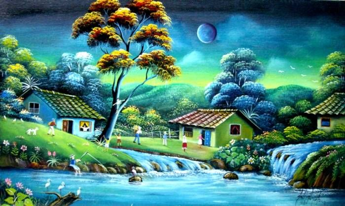 Paisajes de puerto rico paisajes de puerto rico toda for Pinturas para pintar casas