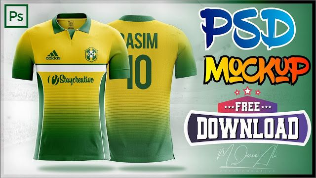 Download Free Adidas Shirt Mockup Football Shirt Design Using Corel Draw Photoshop By M Qasim Ali Football Shirt Designs Adidas Shirt Shirt Mockup