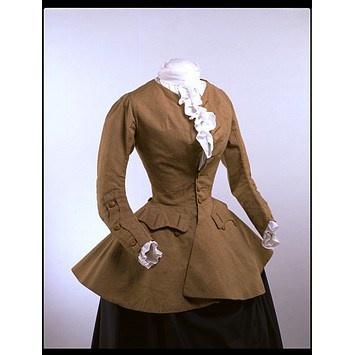 Women's riding Coat, 1750-59. Image V museum