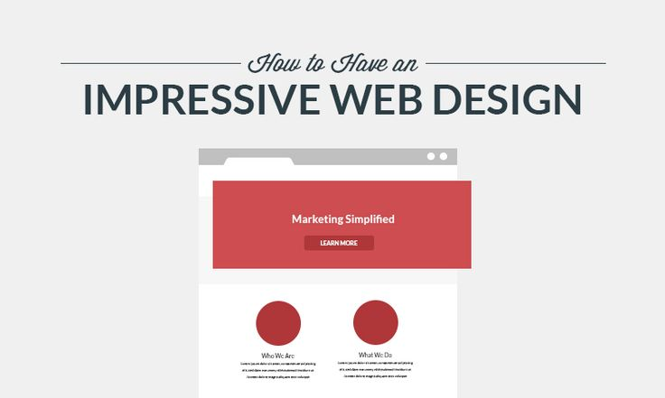 How to Have an Impressive Web Design