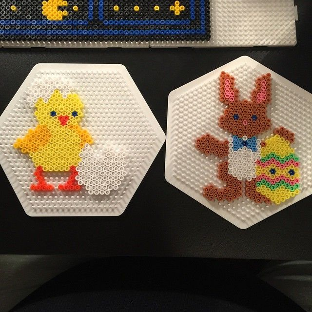 Easter hama perler beads by aslaugsvava