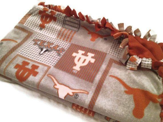 University of Texas Longhorns Fleece Tie by BlanketsUnlimited, $39.00