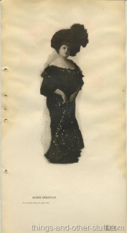 Marie Dressler, 1906