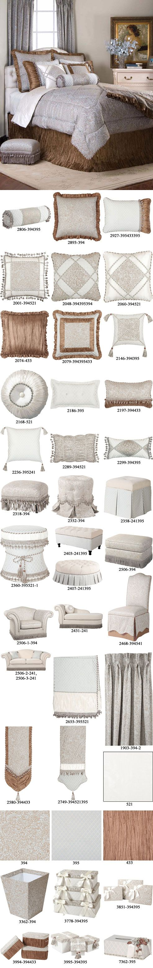 Jennifer Taylor Collection at Luxury Bedding AndLinens.com THIS IS THE MOST REASONABLE SITE TO PURCHASE LUXURY BEDDING ASSEMBLES FROM.