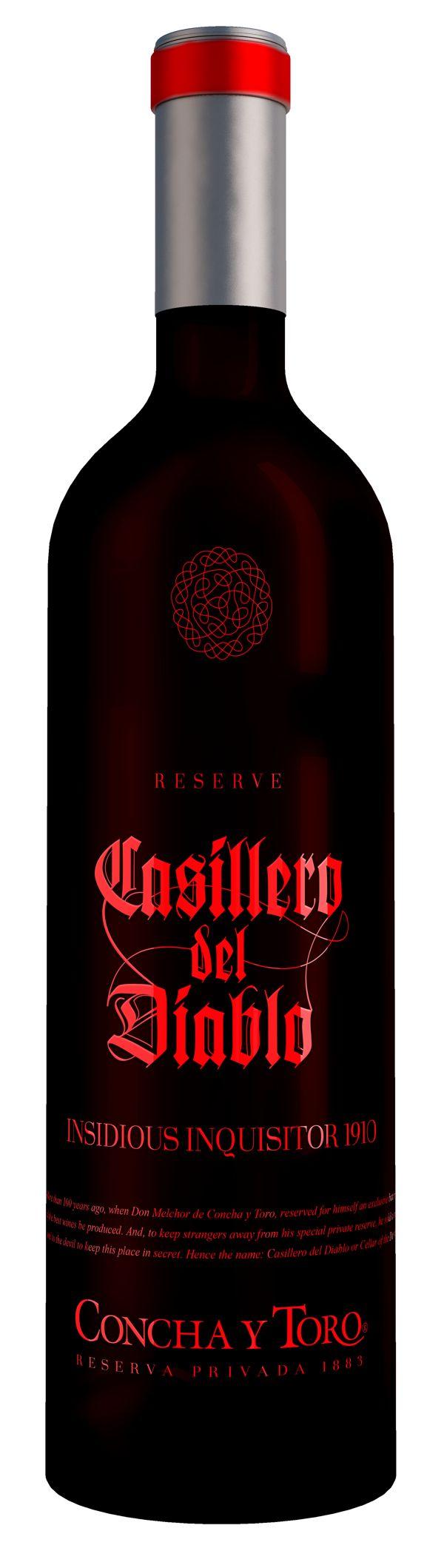 Casillero del Diablo Premium Packaging by Lukasz Kulakowski, via Behance